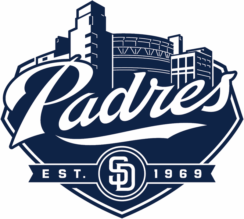 San Diego Padres Wordmark Logo San Diego Padres Word Mark Logo Padres