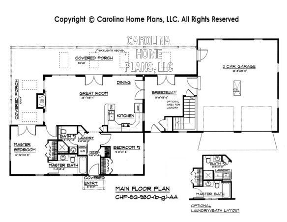 chp sg 980 aa small contemporary cottage house plan 2 br on small modern home plans design for financial savings id=73631