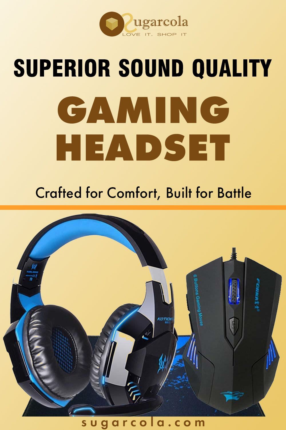 Louder with an Amazing Gaming Headset