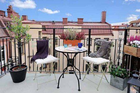 decoracin de terrazas pequeas con plantas easynip