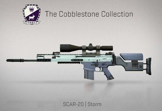 b56c3a040 Counter-Strike Global Offensive: The Cobblestone Collection: SCAR-20 Storm