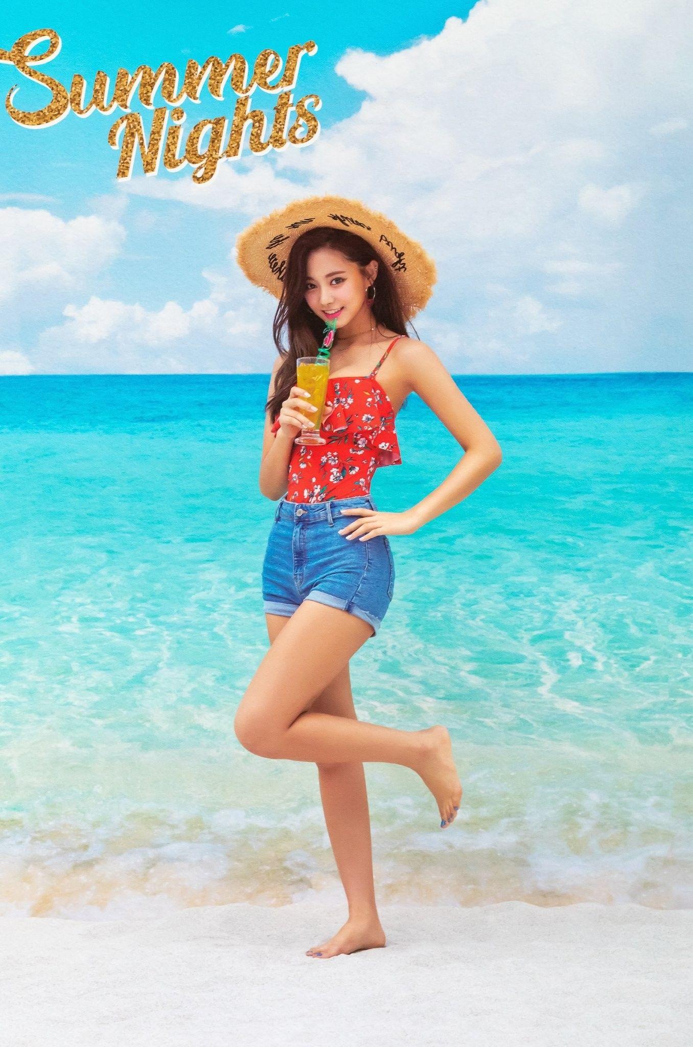 Twice Tzuyu Summernights Dancethenightaway High Quality Photo