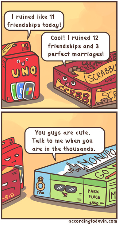 Why we don't play monopoly... ) Funny pictures, Bones funny