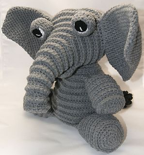 The third animal to join the Corduroy Cuddlers' Collection. This big Eared floppy Elephant is a just full of love to give. A kid or a kid at heart would just love to have one of these guys.