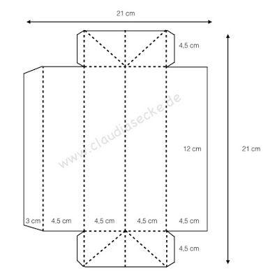 Claudias Ecke: Anleitung | Origami-Schachteln | Pinterest | Schachteln