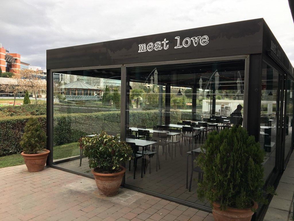 Restaurante Meat Love En La Moraleja Restaurantes Terraza Comida Para Llevar