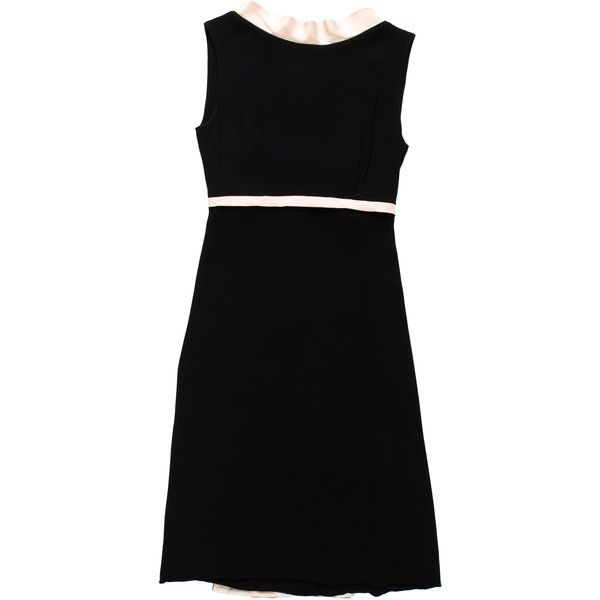 Pre-owned Balenciaga A-Line Dress (€220) ❤ liked on Polyvore featuring dresses, white, a line silhouette dress, a line dress, flounce dress, balenciaga and white frilly dress