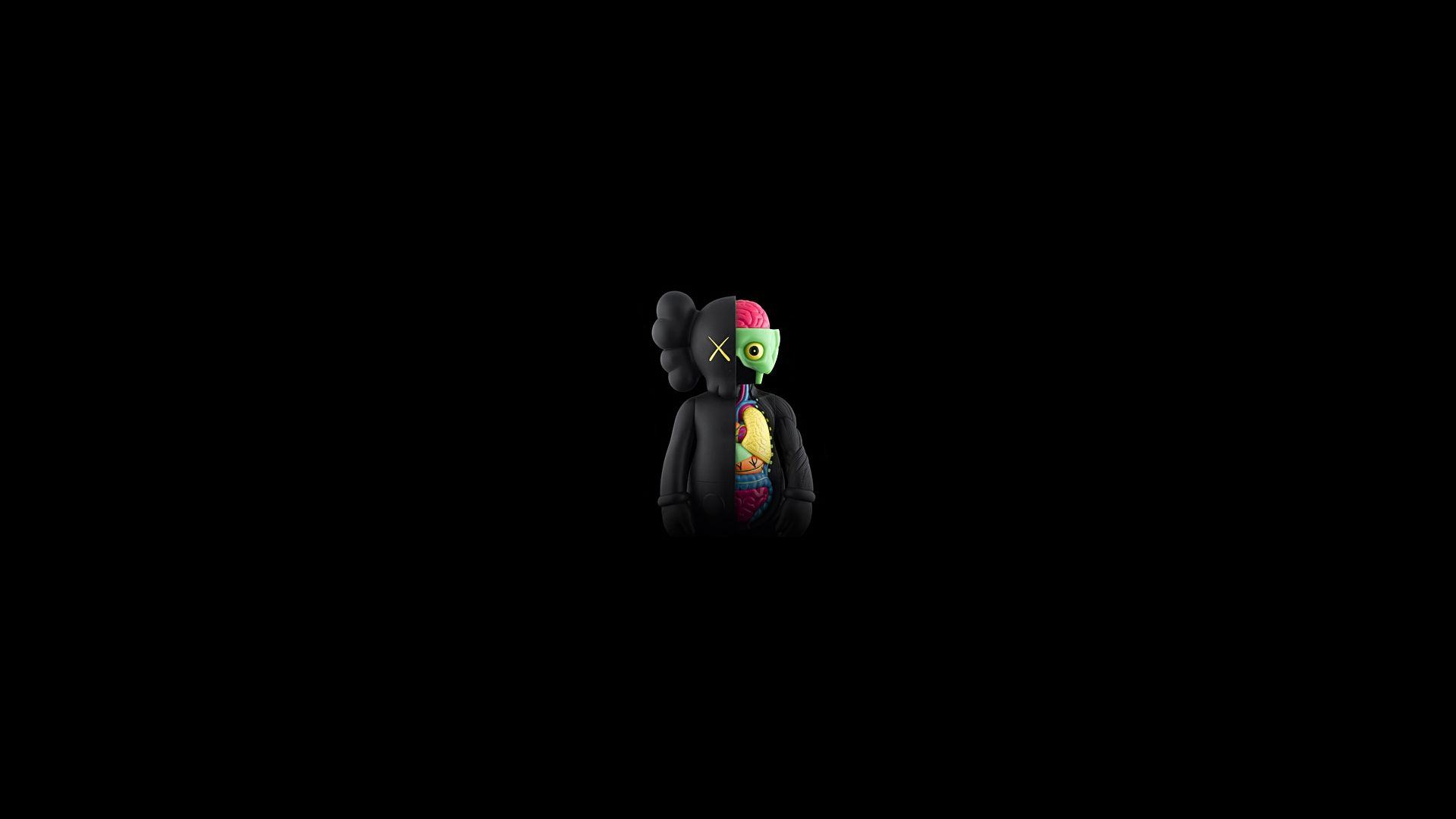 wallpapers kaws originalfake x original fake 1600x1200