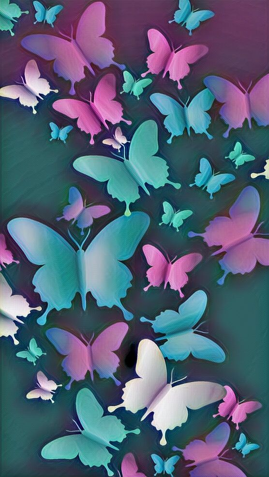 Light Blue Aesthetic Butterfly