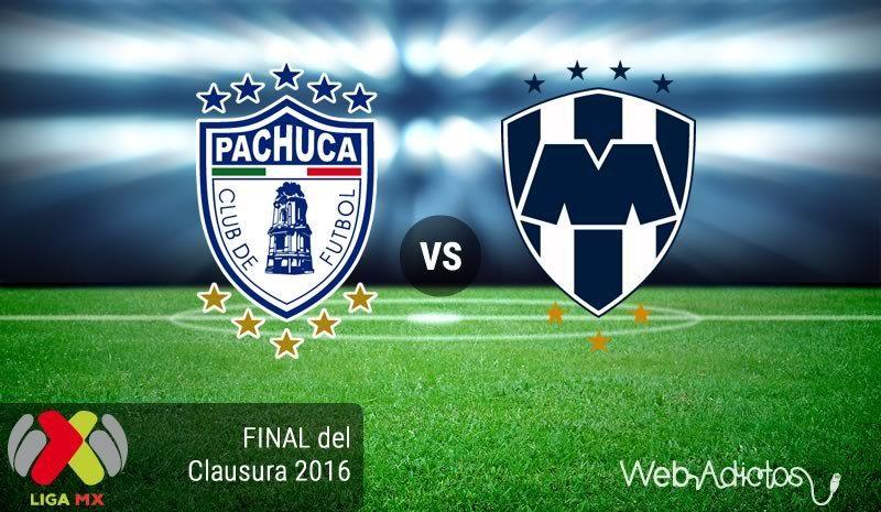 Ver Pachuca Vs Monterrey En Vivo Online Final Partido Ida Liga Mx Clausura 2016 Futbol En Vivo Sport Team Logos Team Logo Juventus Logo