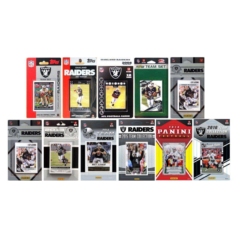 C & I Collectables NFL Licensed Trading Card Team Sets
