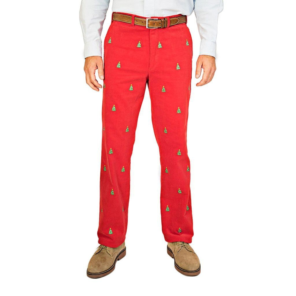 Just found this Mens Corduroy Pants - Embroidered Holiday Bozeman ...
