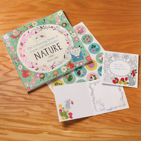 The Coloring Book Of Cards And Envelopes Nature Cards Envelopes Coloring Books Cards