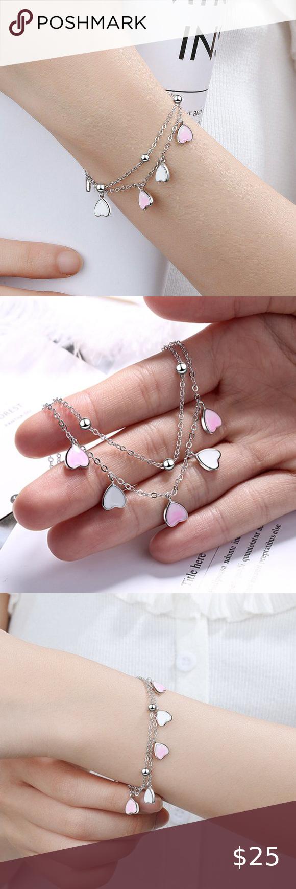 Unique 18K Gold Pearl Bracelet for Women 925 Sterling Silver Fashion Jewelry