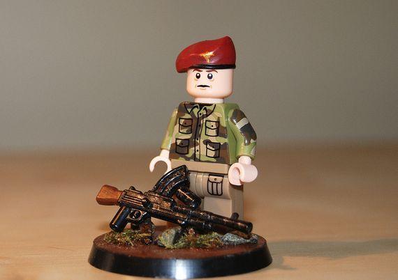 Lego ww1 Custom American Soldier Citizenbrick