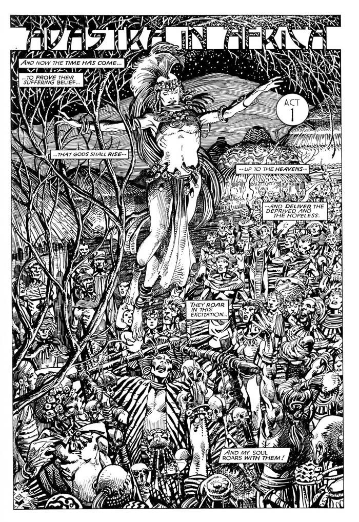 Adastra in Africa by Barry Windsor-Smith