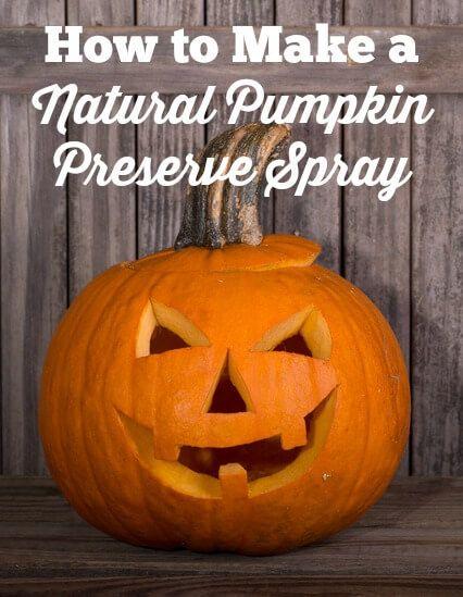 Natural Pumpkin Preserve Spray Recipe Sprays, Holidays and - how to make pumpkin decorations for halloween