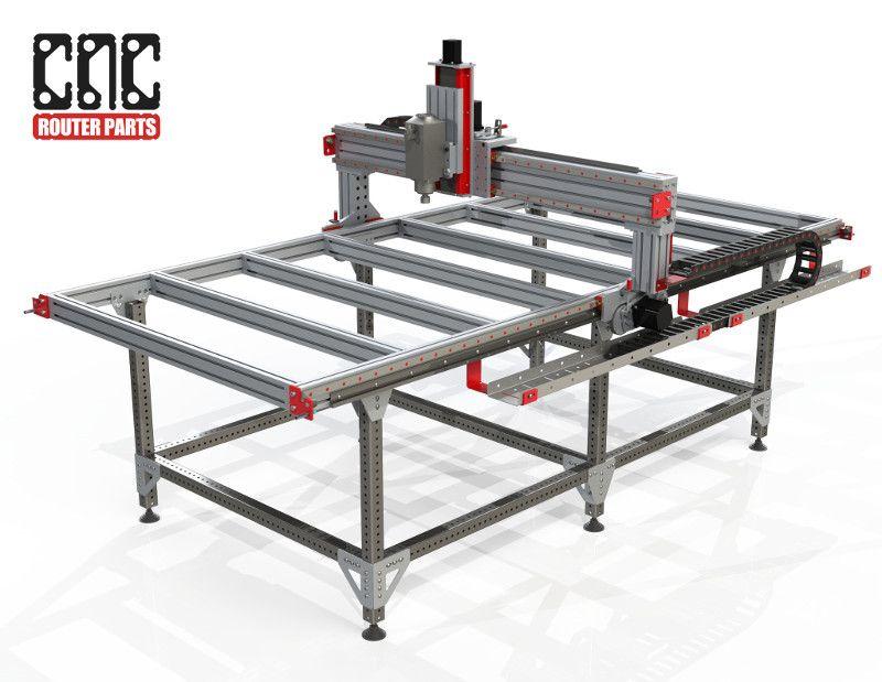 4' x 8' CNC Router Kit (PRO4896) 5,100 Linear bearing