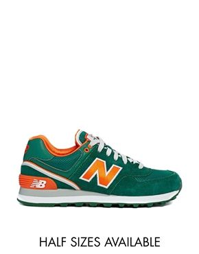 new balance orange et verte