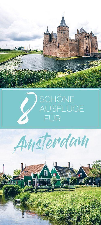 8 schöne Ausflüge in Amsterdam | WOLKENWEIT #vacationdestinations