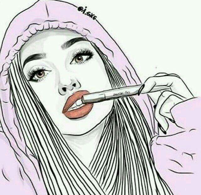 Immagine Disegni Di Tumblr Di Yuliya Su Black And White Girls