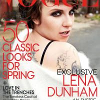 Vogues newest lady lena dunham anna wintour and february vogues newest lady fandeluxe Gallery