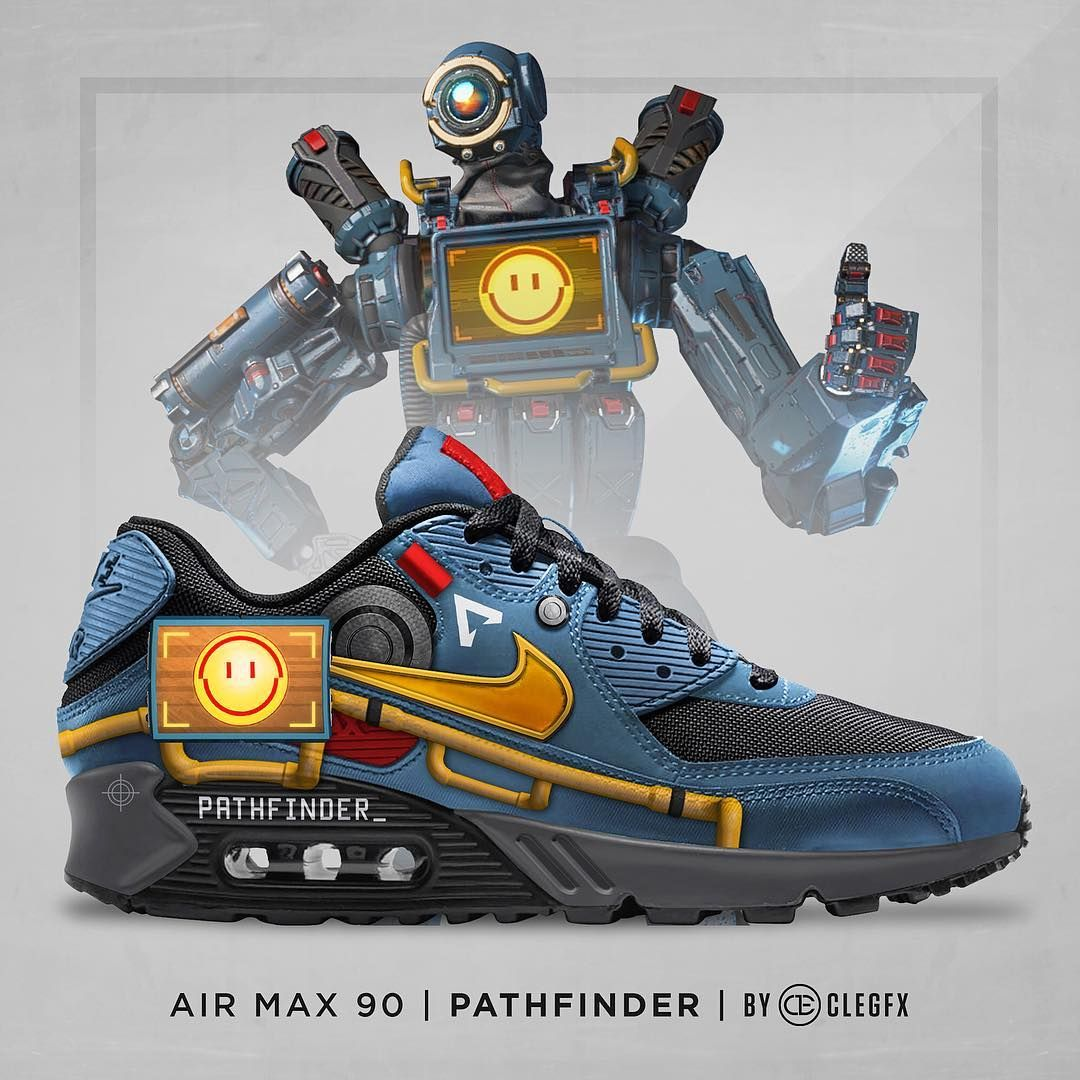 You know I had to make these designs inspired by Apex