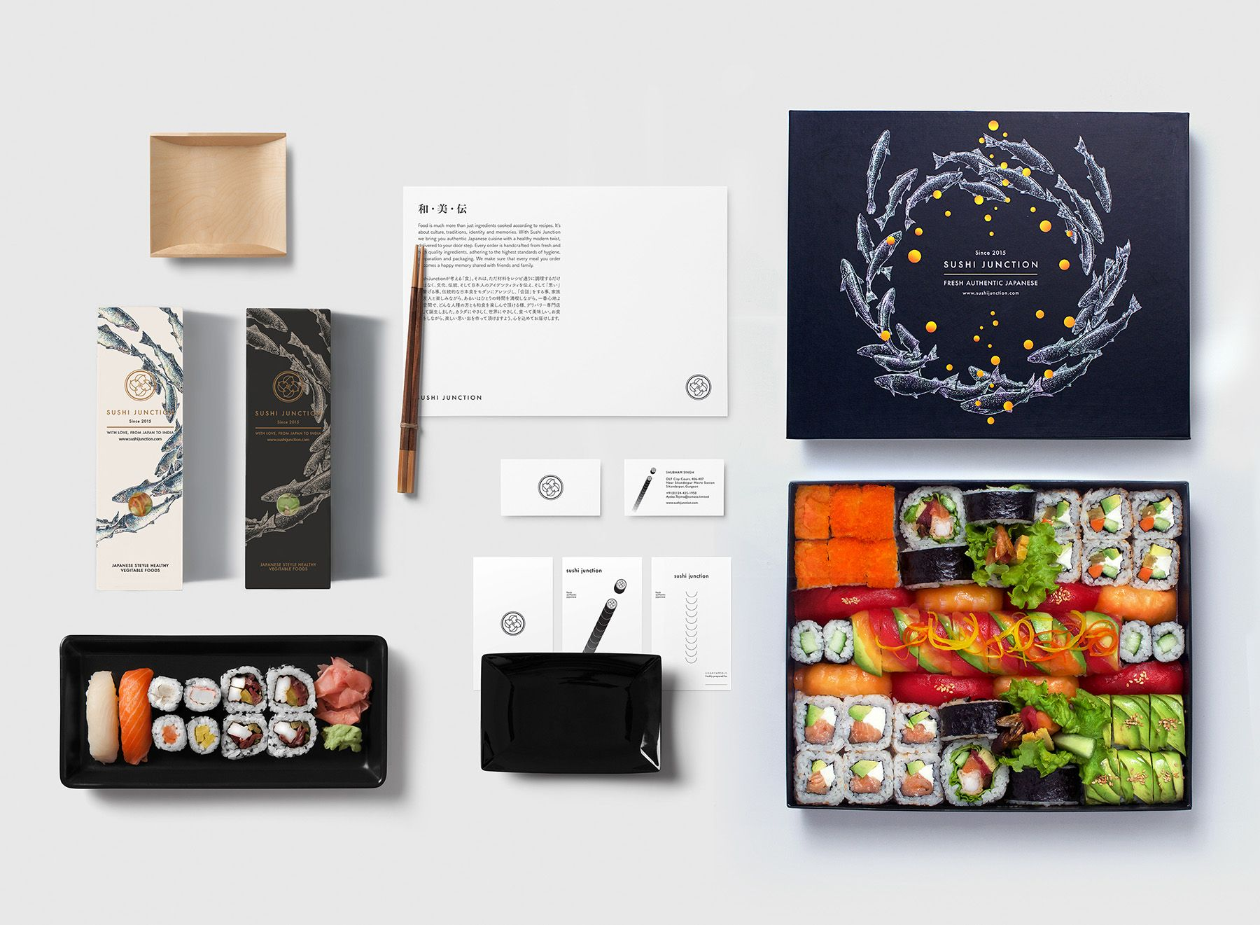 Eye Catching Packaging With Sushi Junction Packaging Design Inspiration Packaging Design Graphic Design Packaging