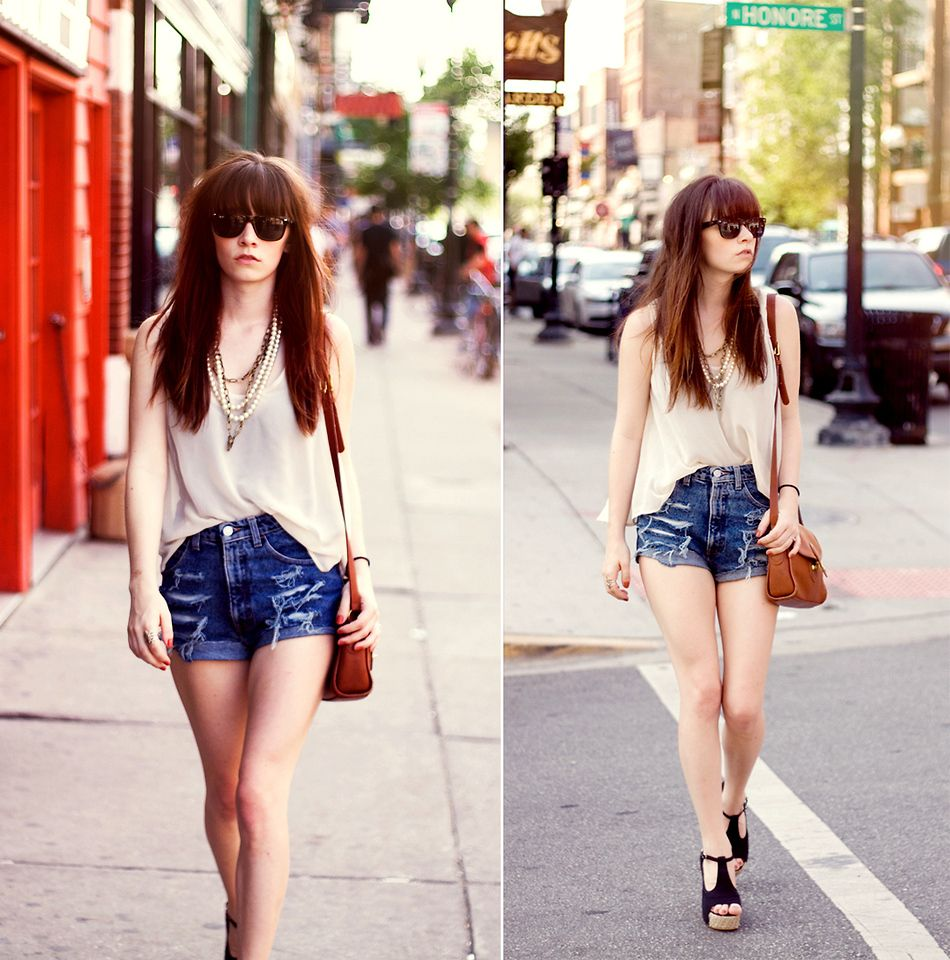 Summer Outfits With High Waisted Shorts Fads-summer outfits with ...