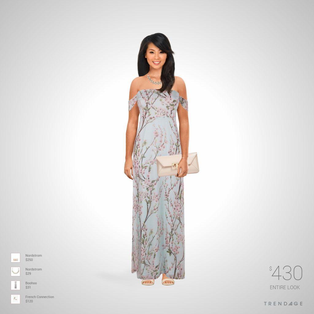equipo de la manera hecha por Karina el uso de ropa de Nordstrom, Boohoo, French Connection. Estilo hecho en Trendage.