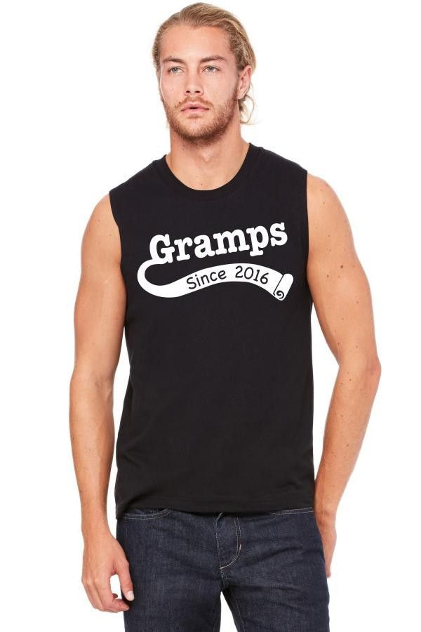 Gramps Since 2016 Muscle Tank