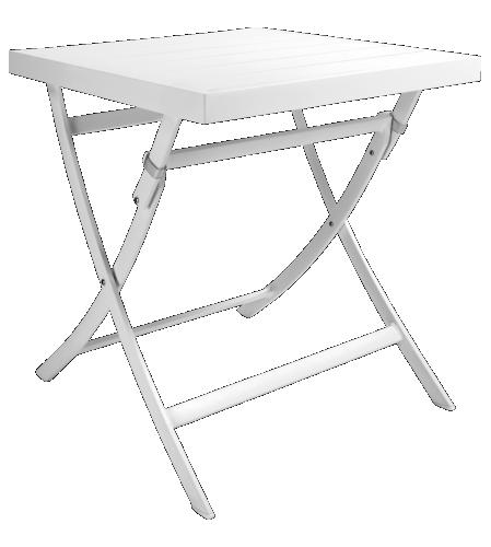 Blanche Table de jardin pliante (www.habitat.fr) | |VVI| PROJECT APT ...