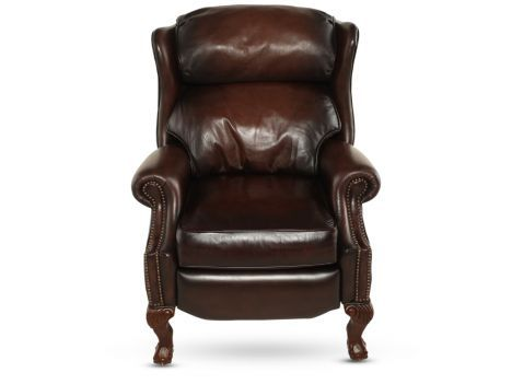 BHT 126RLO   Bernhardt Briggs Leather Recliner | Mathis Brothers Furniture