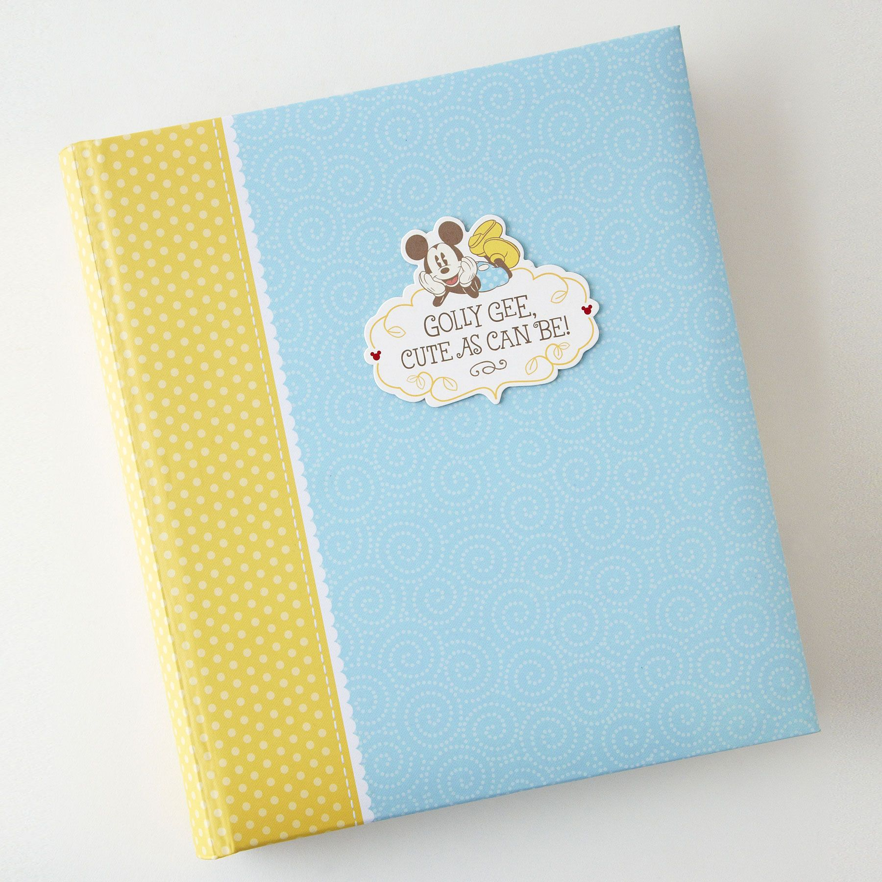 MICKEY MOUSE Memory Book