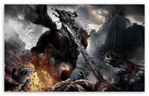 Darksiders Red Horseman War