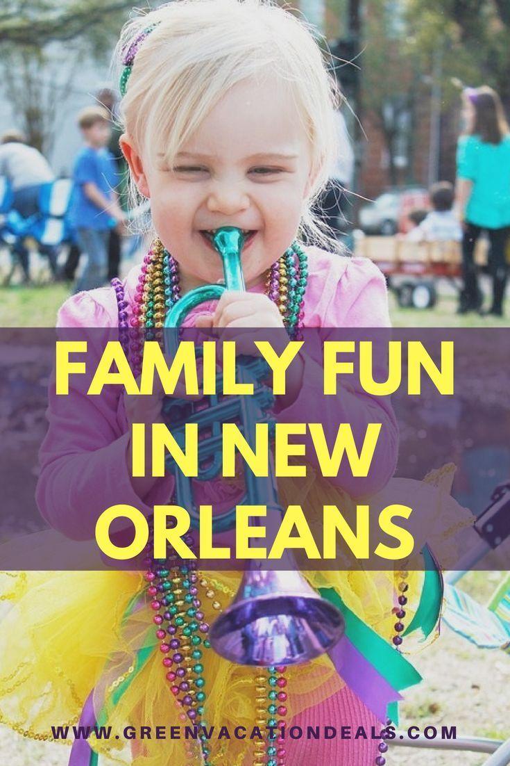 Enjoy activities in New Orleans: Fun Tour, Audubon Zoo & aquarium & Butterfly Garden & Insectarium, Steamboat Natchez cruises, Carousel Grounds Amusement Park, Mardi Gras World, Storyland, Children's Museum, tour, swamp & bayou tours, carriage & streetcar rides, ferry to Algiers Point […]