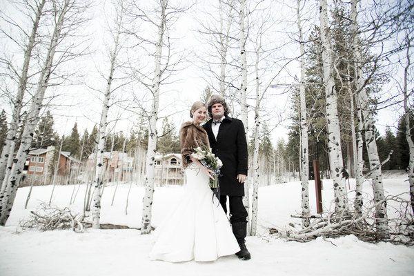 Inspired By Snowy Weddings