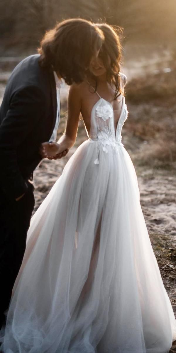 36 Gorgeous A-Line Wedding Dresses #gorgeousgowns