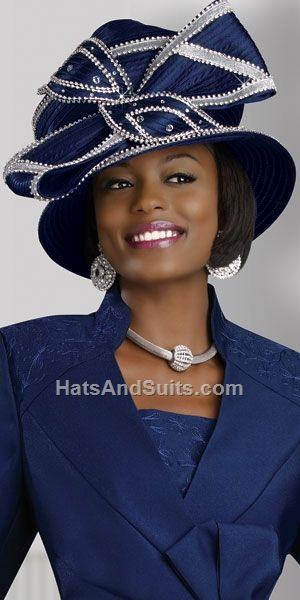 Image detail for -donna vinci couture church hat h1369 beautiful designer  hat by 3177f62c1408
