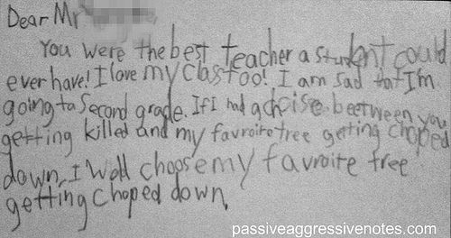 making the right choice...that's what i learned in 1st grade.