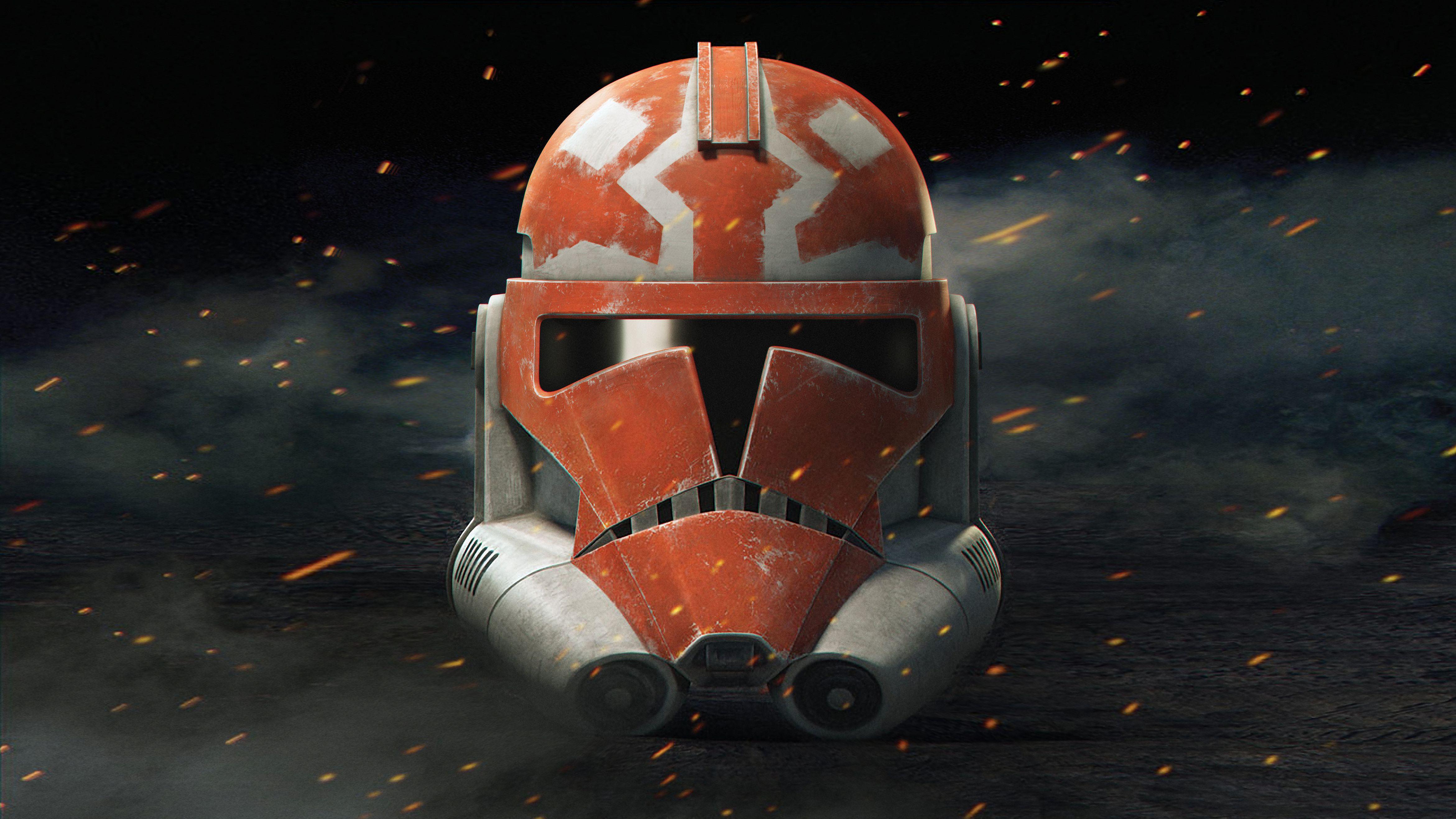 Star Wars The Clone Wars Season 7 Clone Trooper Helmet 4683x2634 Star Wars Art Star Wars Wallpaper Star Wars Background