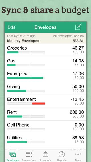 goodbudget budget planner expense tracker personal finance