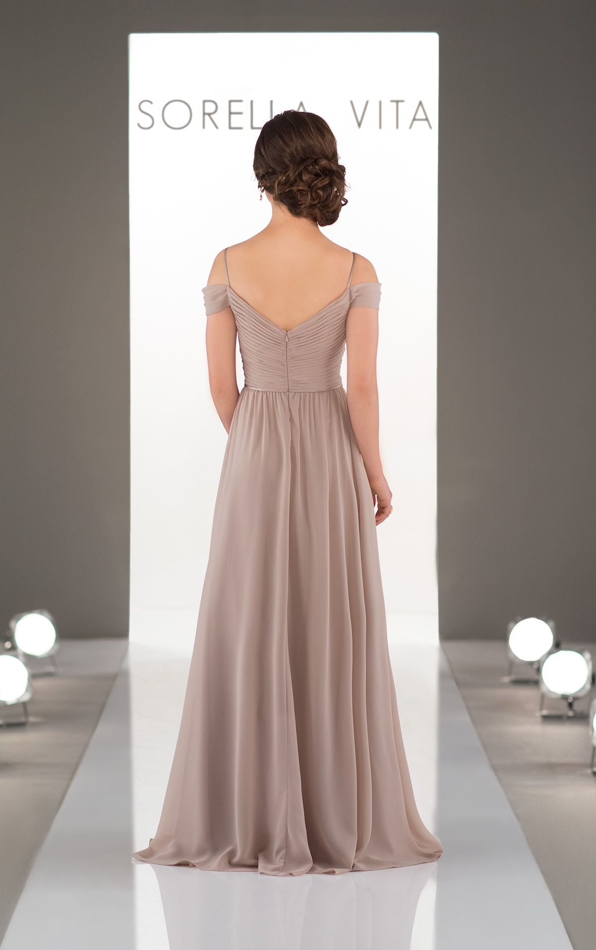 Bridesmaid gowns romantic and gowns