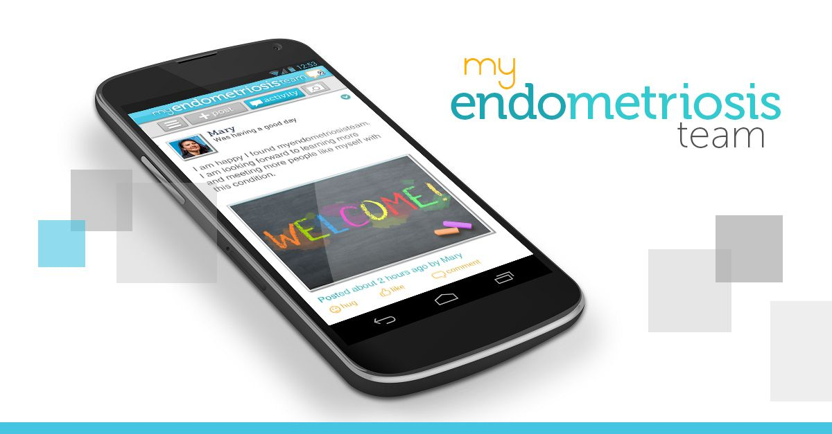 MyEndometriosisTeam has a FREE iPhone and Android app