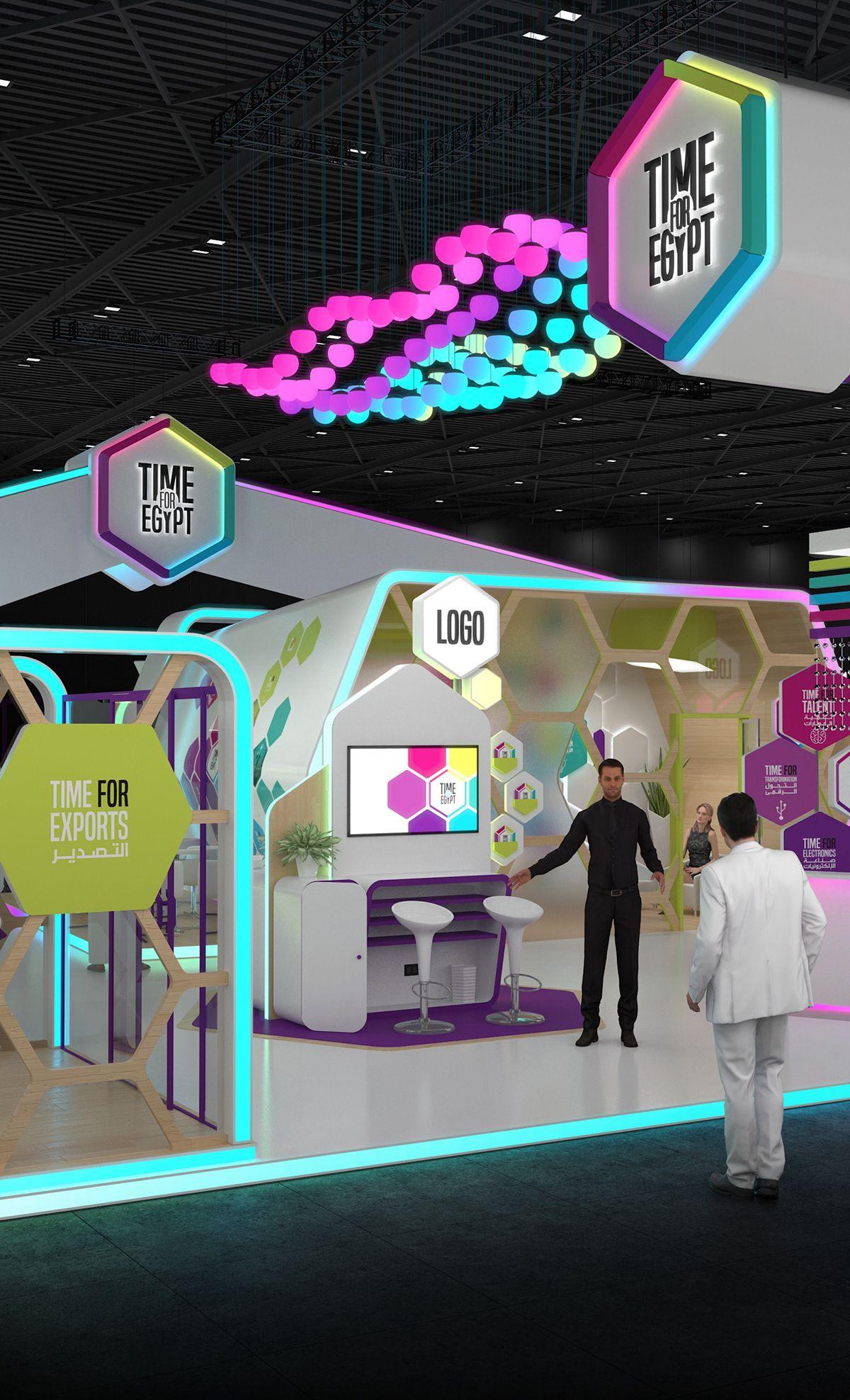 Exhibition Stand Design Egypt : Time for egypt at gitex technology week dubai on behance
