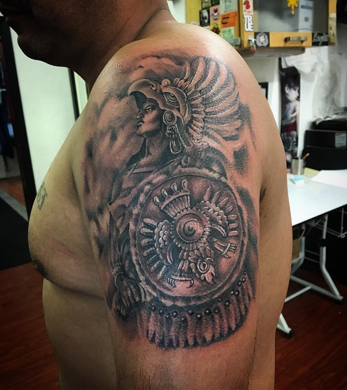 Aztec Design Tattoo Small: 24 Aztec Tattoo Designs Ideas