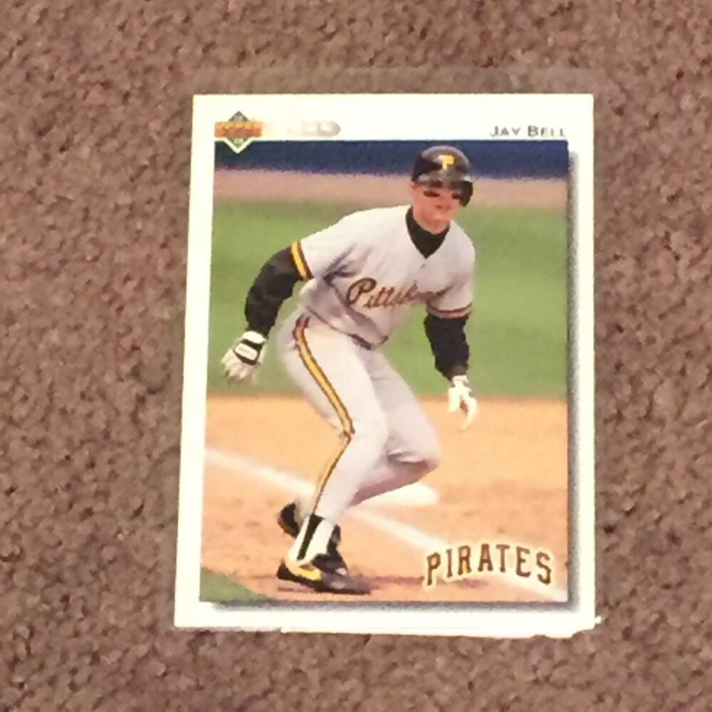 1992 Baseball Edition Upper Deck 115 Jay Bell Pittsburg Pirates