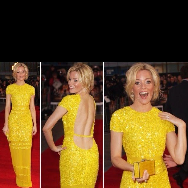 Love this ray of sunshine! I would wear this happy yellow gown in a heartbeat!