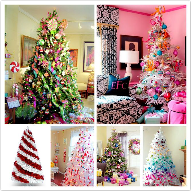 Most Gorgeous Beautiful Xmas Tree Decoration Concepts 2012