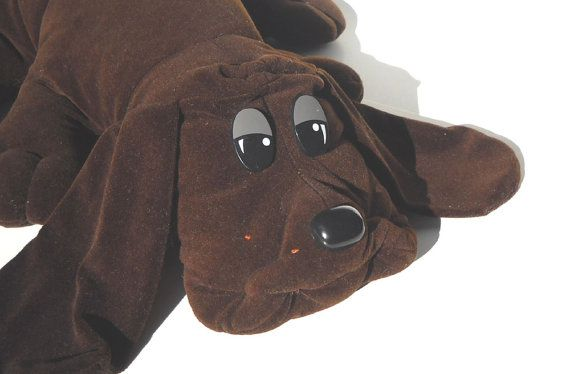 Giant Pound Puppy Chocolate Brown By Tonka 1980s By Manateestoybox